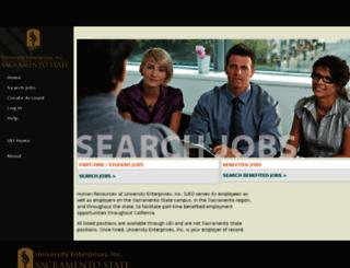 ueijobs.peopleadmin.com screenshot