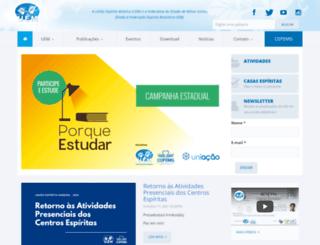 uemmg.org.br screenshot