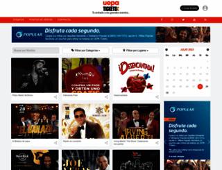uepatickets.com screenshot