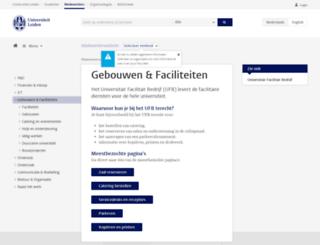 ufb.leidenuniv.nl screenshot