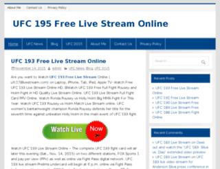 ufc178livestream.com screenshot