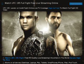 ufc194free.com screenshot