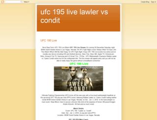 ufc195-live.blogspot.com screenshot