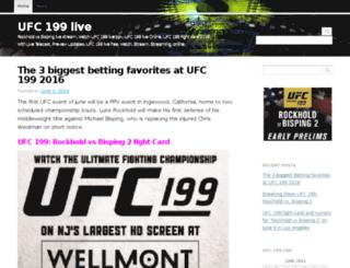 ufc199live.net screenshot