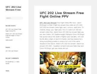 ufc202livestream.net screenshot
