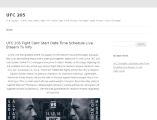 ufc205-live-stream.com screenshot