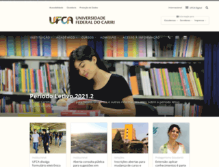 ufca.edu.br screenshot