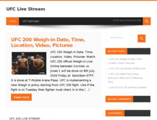 ufcfightlivestream.com screenshot