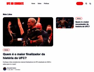 ufcnocombate.com.br screenshot