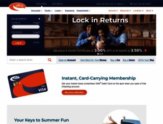 ufcu.org screenshot