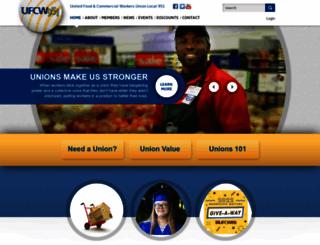 ufcw951.com screenshot