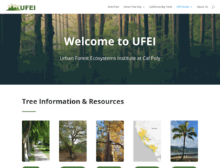 ufei.calpoly.edu screenshot