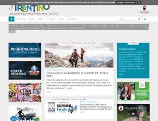 ufficiostampa.provincia.tn.it screenshot