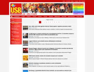 ufficiostampa.usb.it screenshot