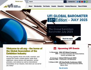 ufi.org screenshot