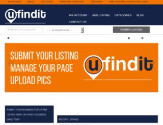 ufindit.com.au screenshot