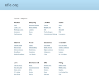 ufle.org screenshot