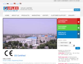 uflexengg.com screenshot
