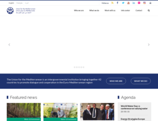 ufmsecretariat.org screenshot