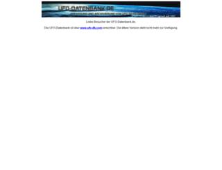 ufo-datenbank.de screenshot
