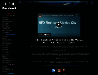 ufocasebook.com screenshot