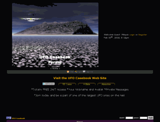 ufocasebook.conforums.com screenshot