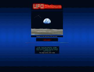 ufodisclosure.com screenshot