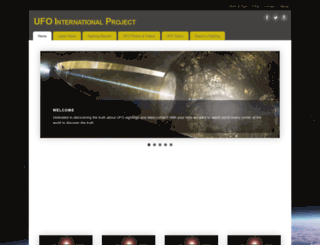 ufointernationalproject.com screenshot