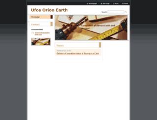 ufos-orion-orion.webnode.com screenshot