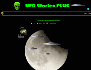ufostoriesplus.com screenshot