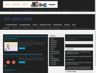 ufoworldnews.com screenshot