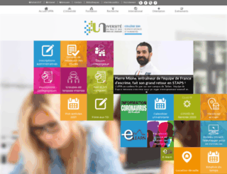 ufr-droit-eco-gestion.univ-pau.fr screenshot