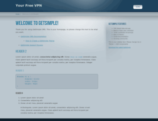 ufreevpn.com screenshot