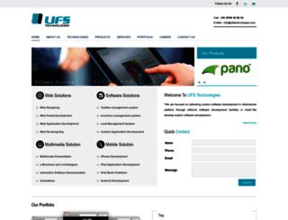 ufstechnologies.com screenshot
