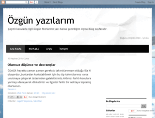 ufukpaylas.blogspot.com.tr screenshot