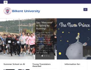 ug.bilkent.edu.tr screenshot