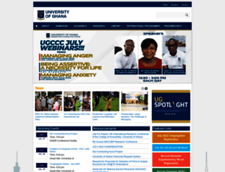 ug.edu.gh screenshot