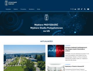 ug.gda.pl screenshot
