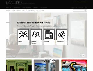 ugallery.com screenshot