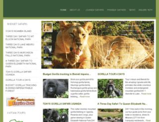 uganda-safaris.org screenshot
