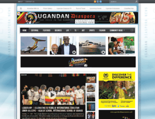 ugandandiasporanews.com screenshot