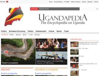 ugandapedia.com screenshot