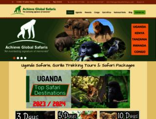 ugandasafaristours.com screenshot