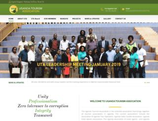 ugandatourismassociation.org screenshot
