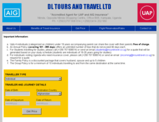ugandatourismoffice.info screenshot