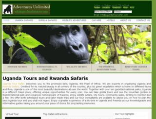ugandatoursafari.com screenshot