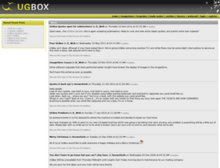 ugbox.net screenshot