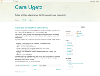 ugetz.co.vu screenshot