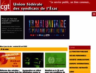 ugff.cgt.fr screenshot