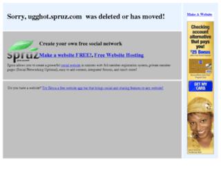 ugghot.spruz.com screenshot
